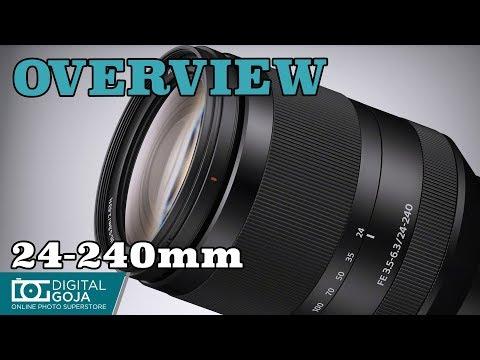 Sony FE 24-240mm F/3.5-6.3 OSS Telephoto Zoom Lens | Overview