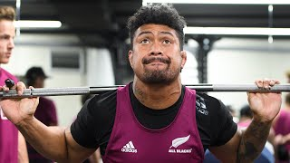 All Blacks hit the gym in Wellington