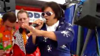 Elvis Imitator Shelvis -  auf dem Schlagermove 2007