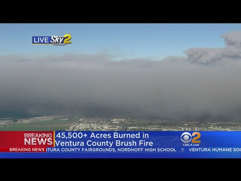 45,500 Acres Burned In Ventura County