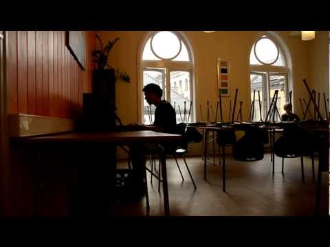 Piano music in Bergen YMCA hostel (1/2)