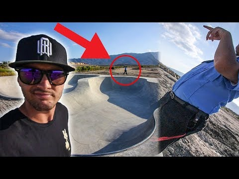 KICKED OUT OF SKATEPARK BY SECURITY GUARD FOR SCOOTERING