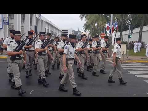 14 juillet 2018 - Défilé militaire de Nouméa Nouvelle-Calédonie