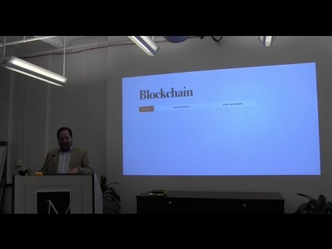 Blockchain for Libraries