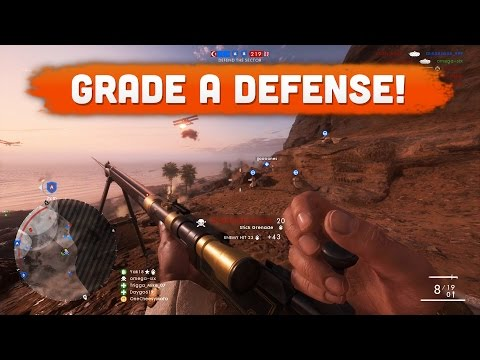 GRADE A DEFENSE! - Battlefield 1 | Road to Max Rank #89