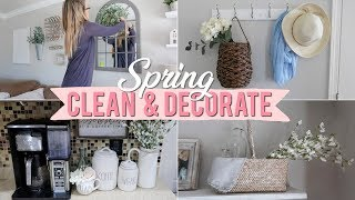 SPRING CLEAN & DECORATE WITH ME 2019 | Decorating for Spring! Cleaning Motivation! | Lauren Midgley