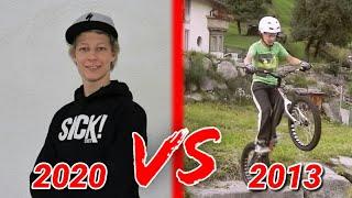 OLD GABRIEL WIBMER VS NEW GABRIEL WIBMER / 2013 VS 2020 / SICK SERIES / OLD SKILLS / MTB MOTIVATION