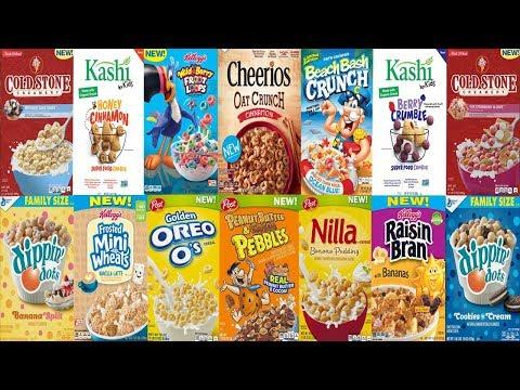2018 New Cereals Update