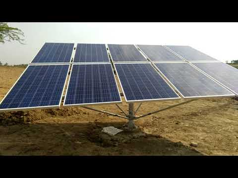 Test 3 Hp Dc Solar Submersible Motor 3 Kw Solar Panel Only 37 000 Youtube