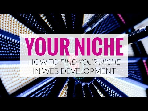 How to Find Your Niche In Web Development
