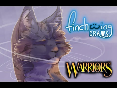 finchwing-draws:-jayfeather-and-half-moon-in-'i-hear-you-in-the-wind'-(warriors-speedpaint)