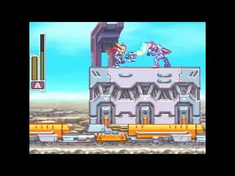 Mega Man Zx Advent Nintendo Ds Gameplay Gameplay Video Youtube