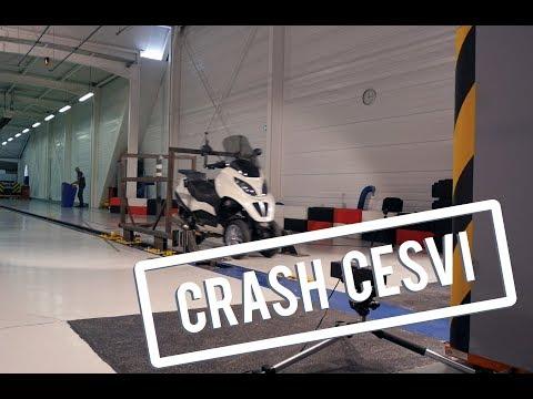 Crash du Piaggio MP3 400