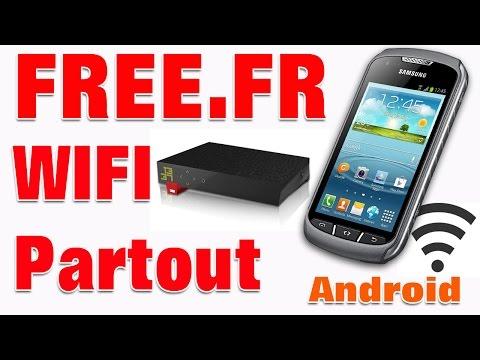 Connexion internet free wifi hors de chez soi hotspot free gratuit.