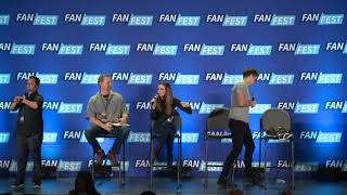 Arrow : Danielle Panabaker, Candice Patton, & Hartley Sawyer Fan Fest San Jose 2018
