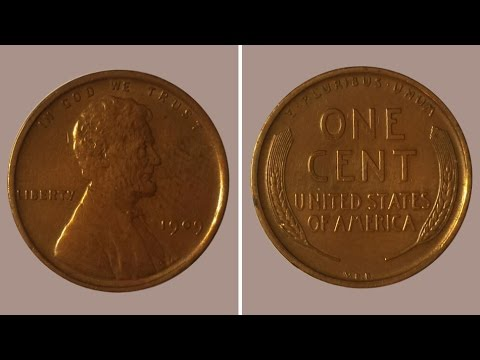 U S Coin Lot 1909 V D B Lincoln Wheat Penny 1864