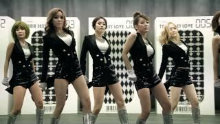 T ARA티아라   Sexy Love Dance Ver  MV