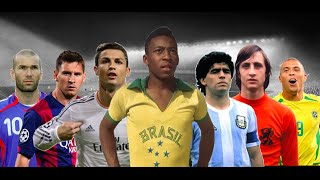 top 20 best football players of all time • outdated