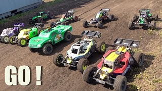 "CANADIAN LARGE SCALE 2019 ""BiG DIRTY"" OPEN TRACK FINALS Off Road Highlights (PT 3) 