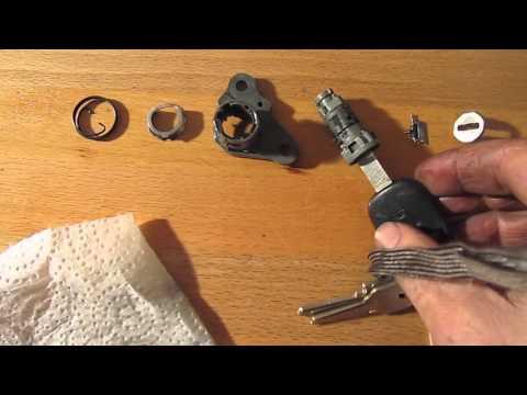 Recode Rekey Car Door Lock Cylinder Use Any Key To U