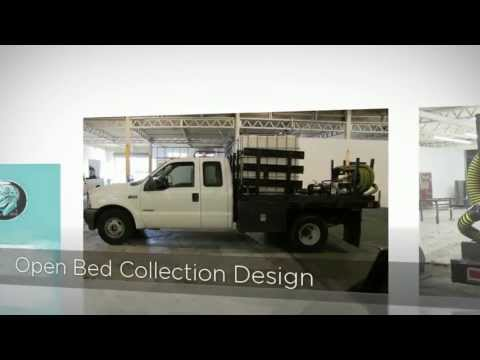 Waste Oil Collection Truck For Vegetable Oil Recycling Companies