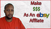 Ebay Partner Network Presents How To Make Money Online As An Affiliate Youtube