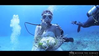 DIVING   Underwater Wedding J&H 水下婚禮