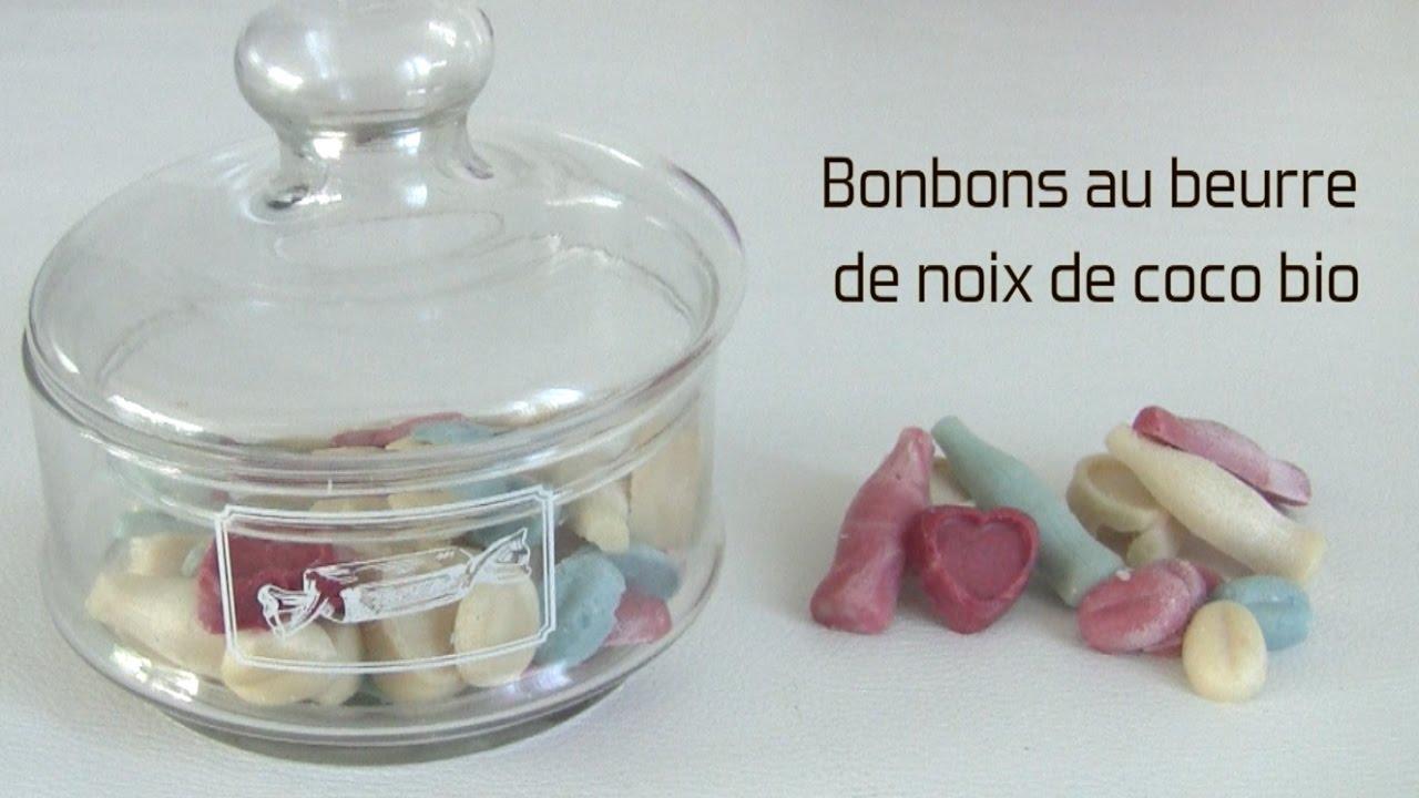 comment faire des bonbons au beurre de coco bio by oum. Black Bedroom Furniture Sets. Home Design Ideas
