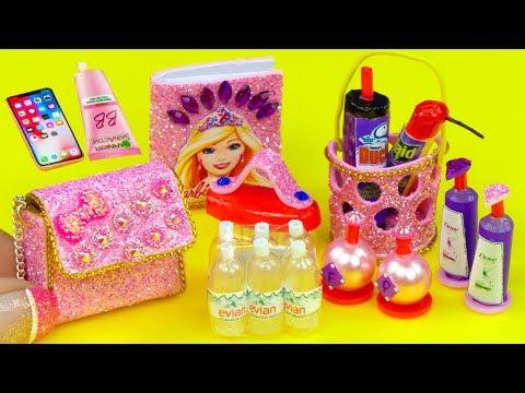 13 DIY Miniatures for Barbie