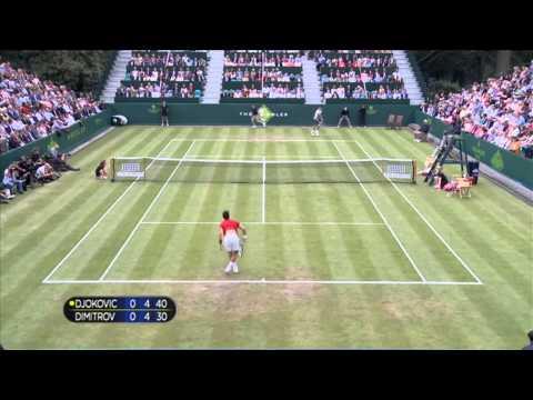 Novak Djokovic (SRB) v Grigor Dimitrov (BUL)