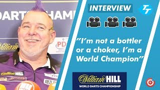 Peter Wright REACTS to being crowned 2020 PDC WORLD CHAMPION |