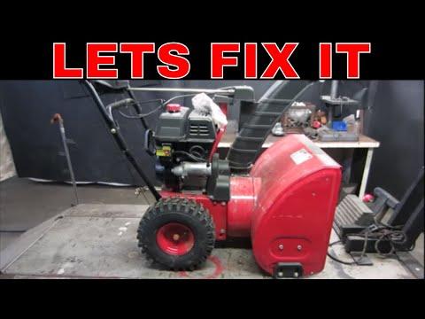 Lets Fix a $40 snowblower From a Garage Sale.
