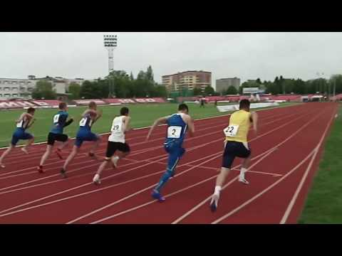 100m Men, EXTRA – Lutsk 2017 (International Athletics U20 Match Meeting)