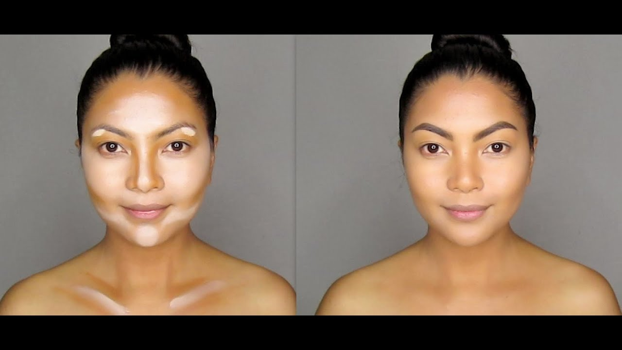 How to: Contour and Highlight Your Face - YouTube