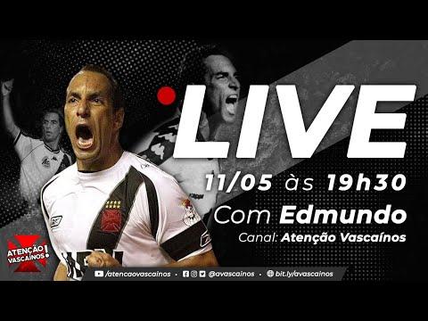 """""""Seria a coisa mais importante da minha vida"""", diz Edmundo sobre ser presidente do Vasco"""