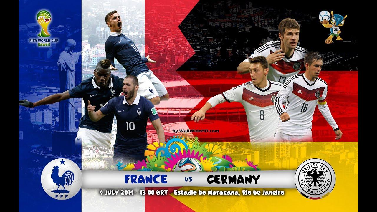 футбол счет франция германия