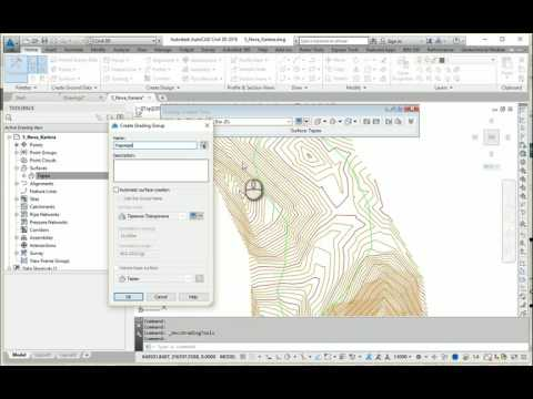 AutoCAD Civil 3D Mining Design Part 1