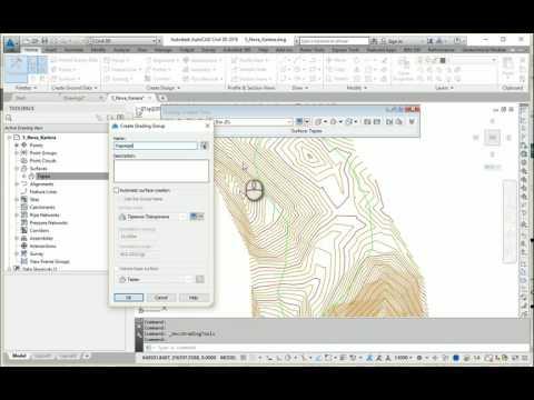 AutoCAD Civil 3D Mining Design Part 1