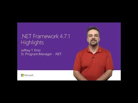 .NET Framework 4.7.1 improvements | T201