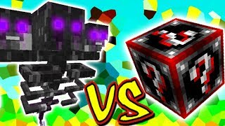 WITHER FANTASMA BOSS VS. LUCKY BLOCK DOOM (MINECRAFT LUCKY BLOCK CHALLENGE)
