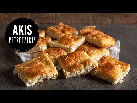 Greek Feta Cheese Pie | Akis Petretzikis Kitchen