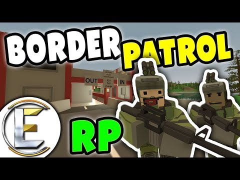 BORDER PATROL RP | Need to see your ID and is that baby yours ? - Unturned Roleplay thumbnail
