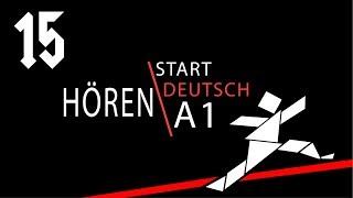 аудирование Hören 44 подготовка к экзамену Start Deutsch A1 немецкий