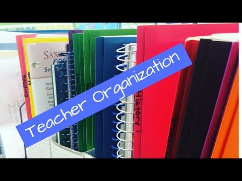 How I Organize My Teaching Resources On a Budget