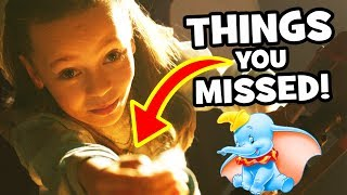 DUMBO Official Teaser Trailer Breakdown, Easter Eggs & Things You Missed