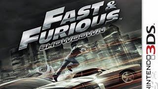 Fast Furious Showdown Gameplay {Nintendo 3DS} {60 FPS} {1080p}