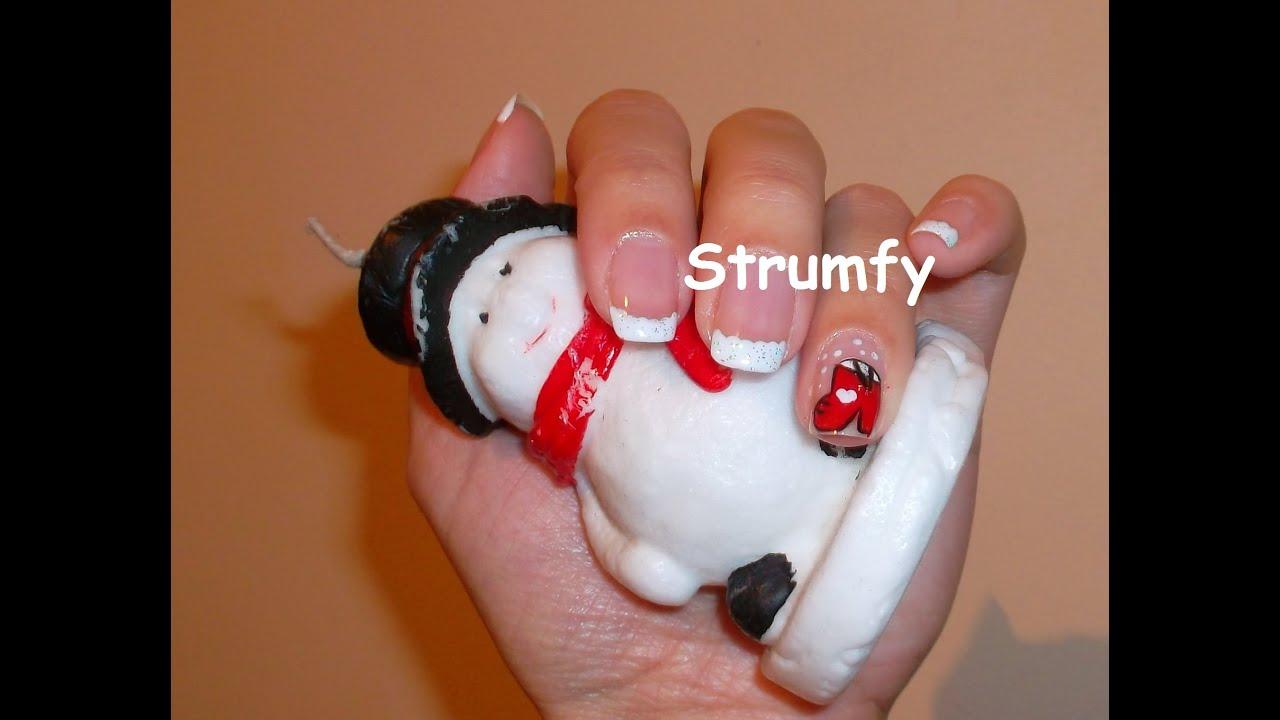 Christmas Nails Art Modele Unghii Pentru Craciun Youtube