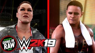 Ronda Rousey vs Shayna Baszler At Mae Young Classic Arena! WWE 2K19 Gameplay!