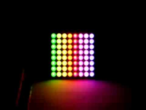 how to create effects on led matrix