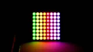 8x8 rgb led matrix effects